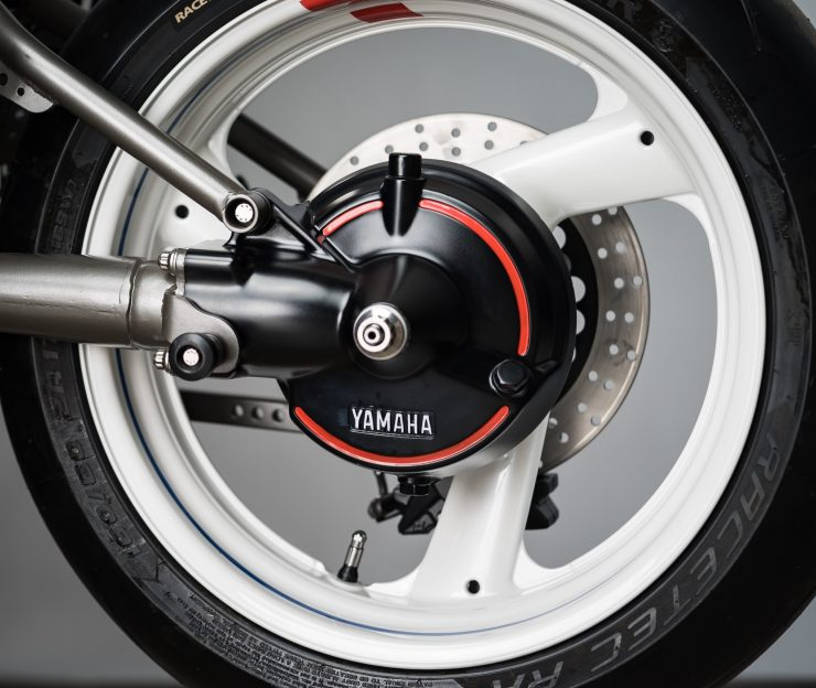 Yamaha Turbo Maximus Motorcycle Rear Wheel
