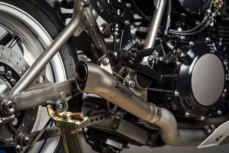 Yamaha Turbo Maximus Motorcycle Exhaust