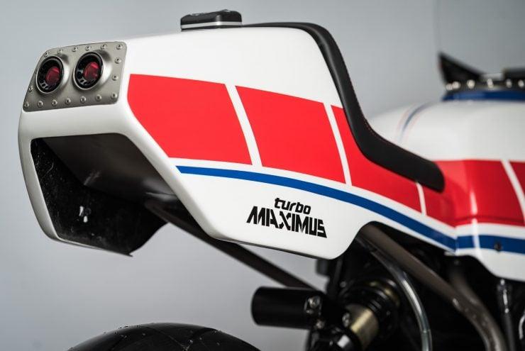 Yamaha Turbo Maximus Motorcycle Rear Cowl