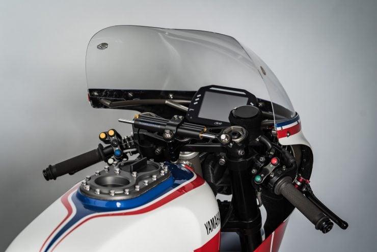 Yamaha Turbo Maximus Motorcycle Front Fairing