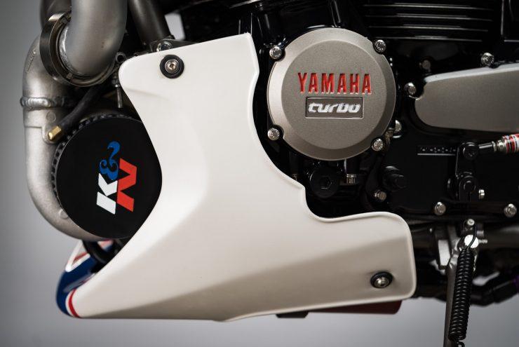 Yamaha Turbo Maximus Motorcycle Engine 2