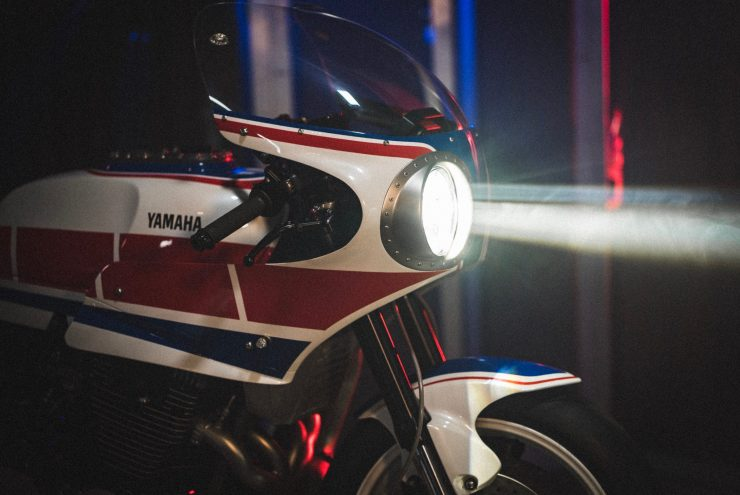 Yamaha Turbo Maximus Motorcycle Headlight