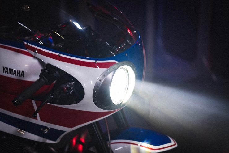 Yamaha Turbo Maximus Motorcycle Headlight 2