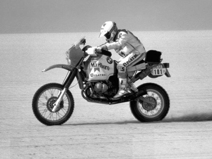 Paris Dakar BMW R80GS motorcycle