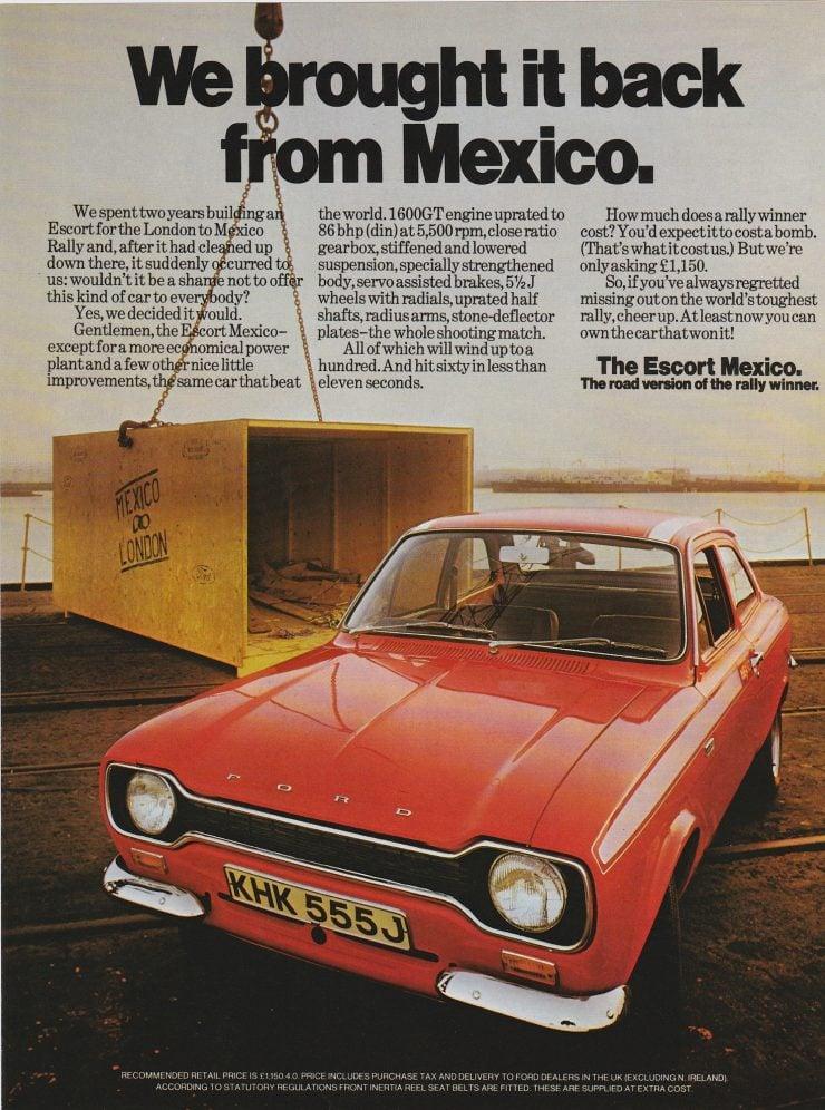 Ford Escort Mk 1 Mexico