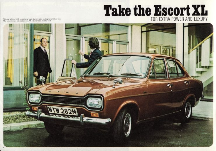 Ford Escort Mk 1 four door sedan saloon car