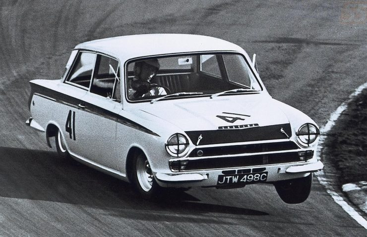Lotus Cortina Jim Clark 1964