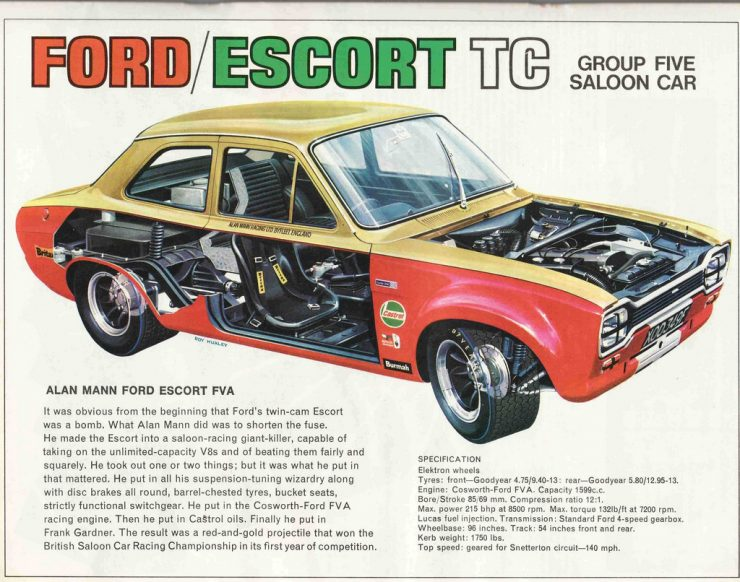 Ford Escort Mk 1 Twin Cam Alan Mann