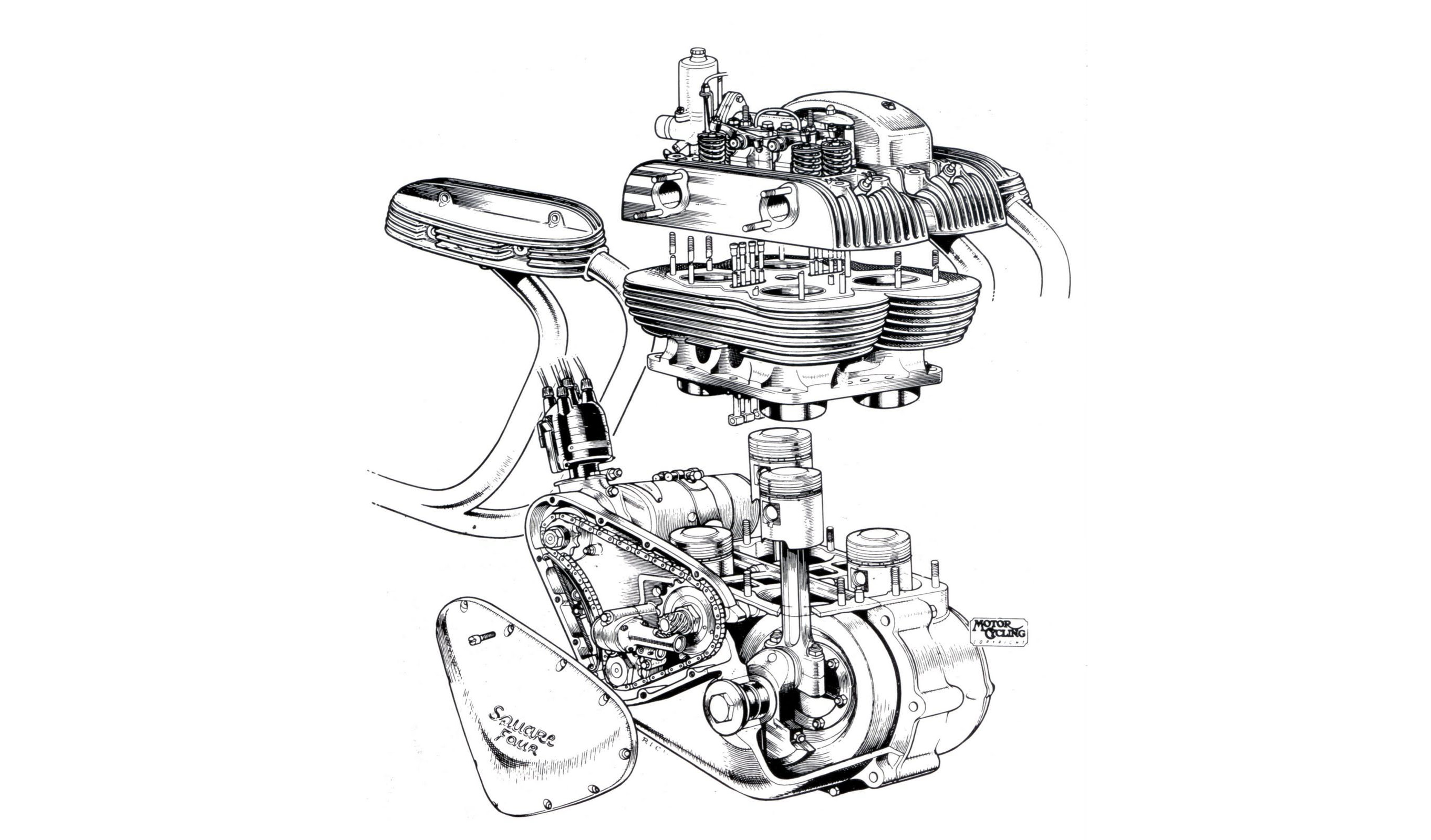 In 1925, ten years after that fateful ride on a New Imperial Light Tourist  motorbike, Edward Turner had a design for an overhead camshaft single  cylinder ...