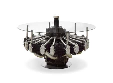 B-17 Radial Engine Coffee Table