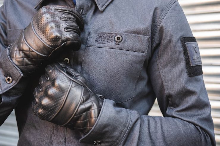 BSMC x Goldtop Motorcycle Gloves Black 1