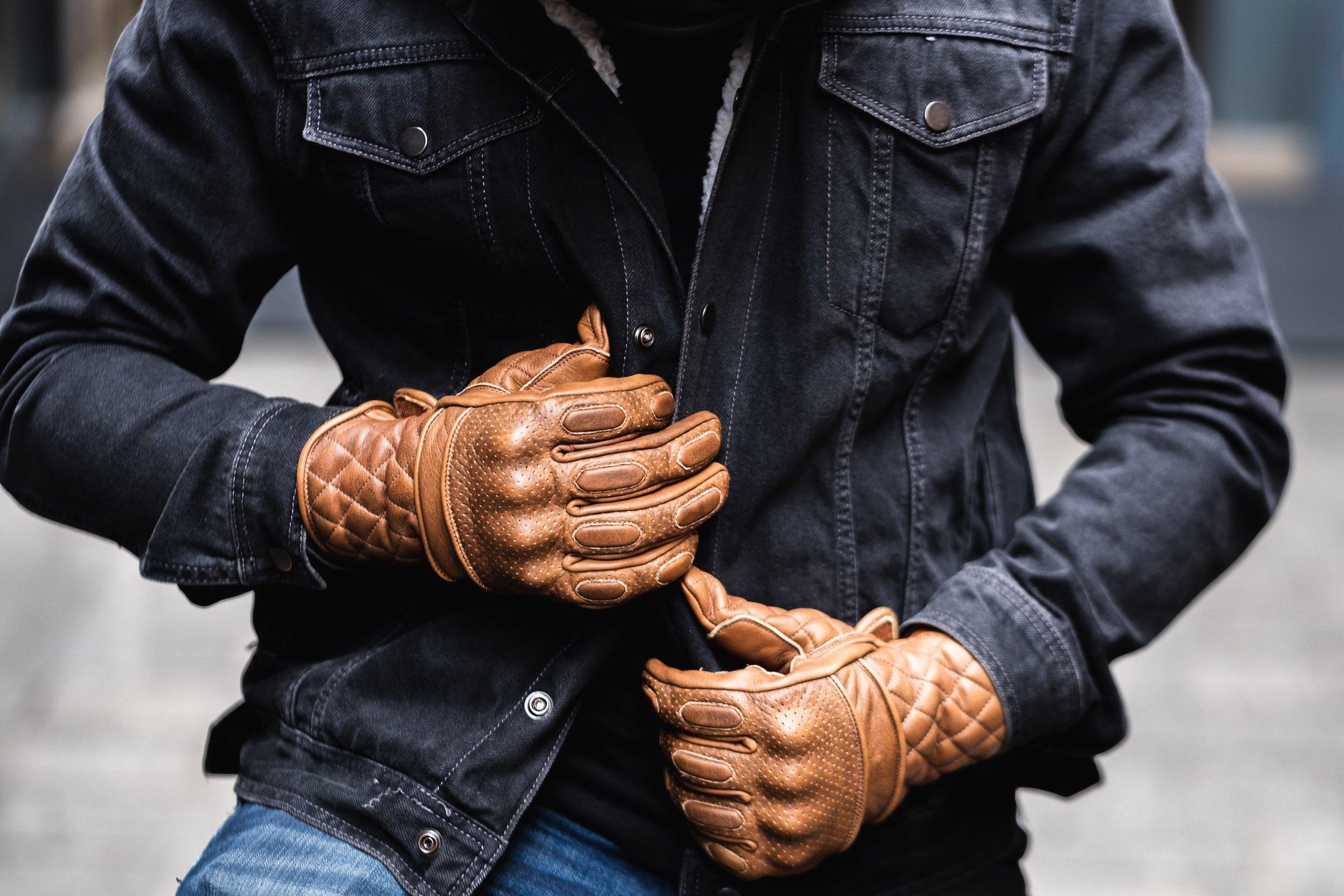 BSMC x Goldtop Motorcycle Gloves
