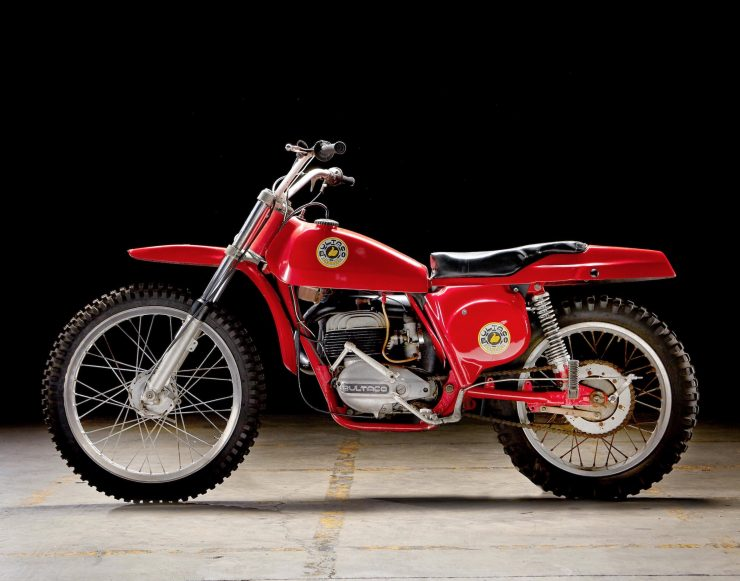 Bultaco Pursang Left Side