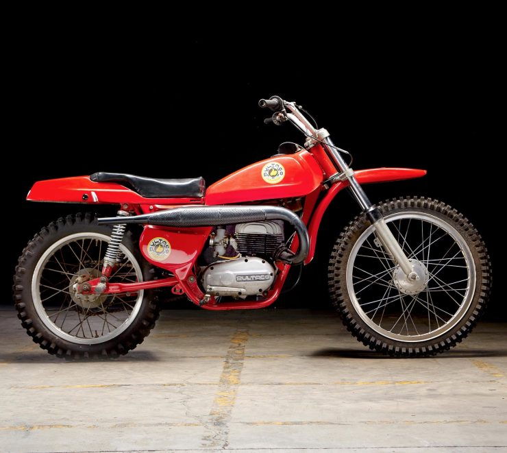 Bultaco Pursang Right Side