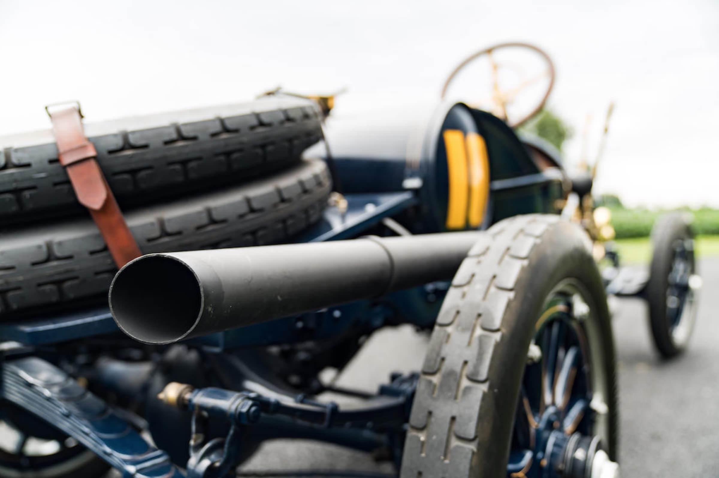 Cadillac Racing Car Exhaust