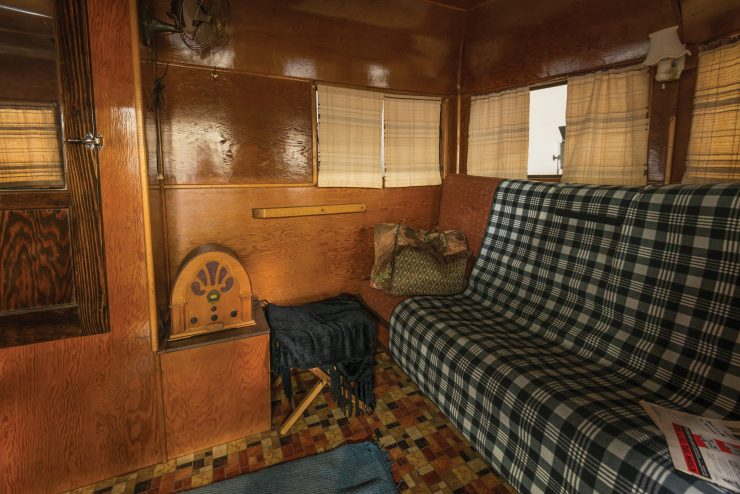 Covered Wagon Company Camping Trailer Interior 2