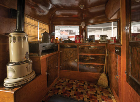 Covered Wagon Company Camping Trailer Interior