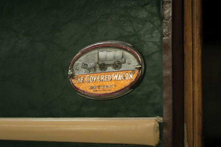 Covered Wagon Company Camping Trailer Logo