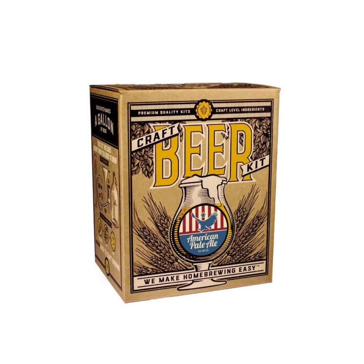 Craft A Brew American Pale Ale Beer Brewing Kit 1