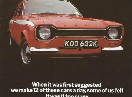 Ford Escort Mk 1 Ad