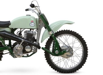 Greeves Motorcycle Front
