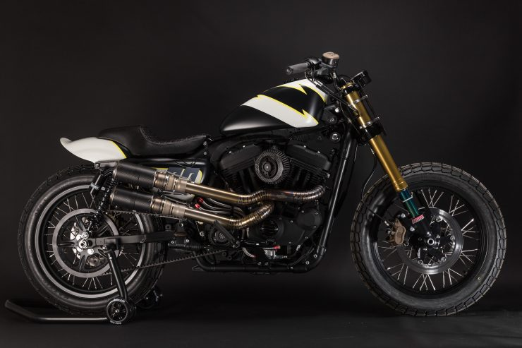 Harley-Davidson Flat Street Tracker