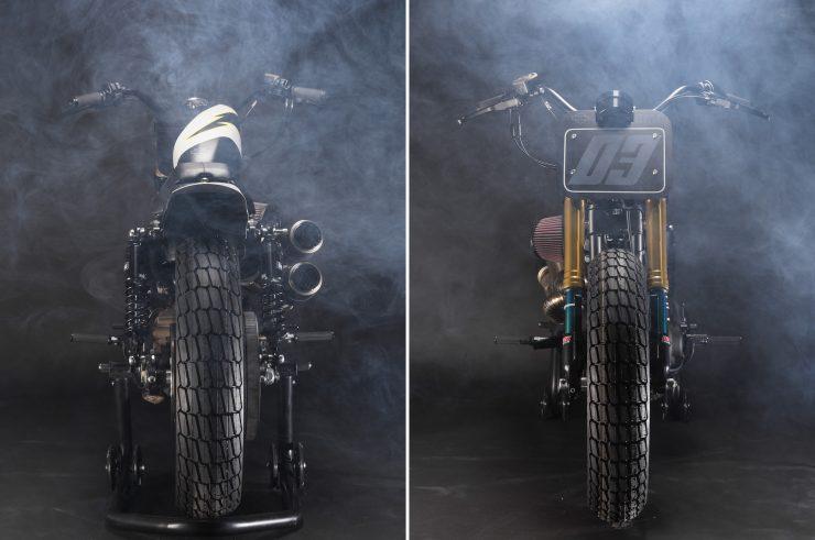 Harley-Davidson Flat Street Tracker Back