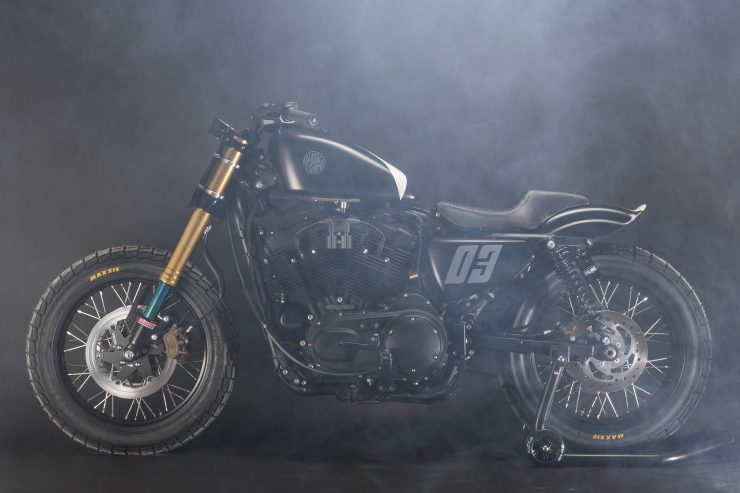 Harley-Davidson Flat Street Tracker Left Side