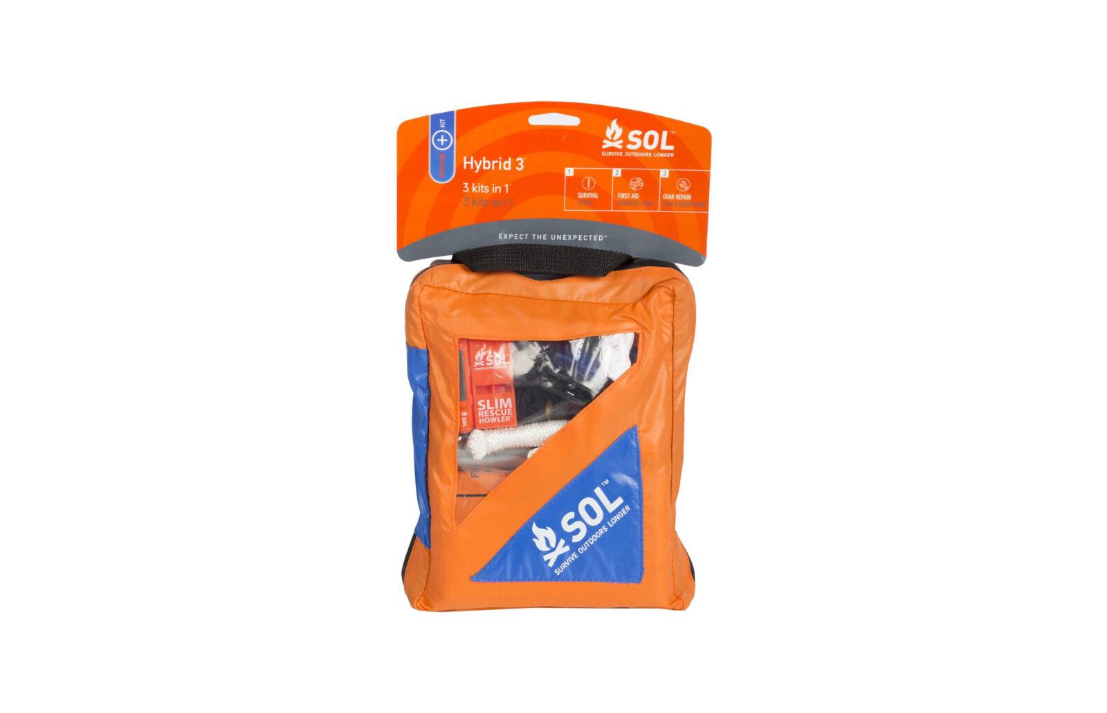 Klim SOL Hybrid 3 Kit - A 3-In-1 Motorcyclist Survival/First Aid/Repair Kit