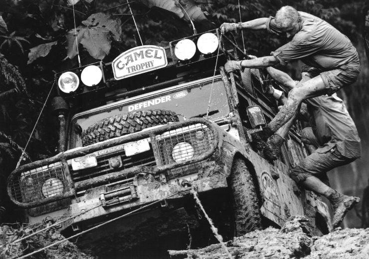 Land Rover Defender Camel Trophy