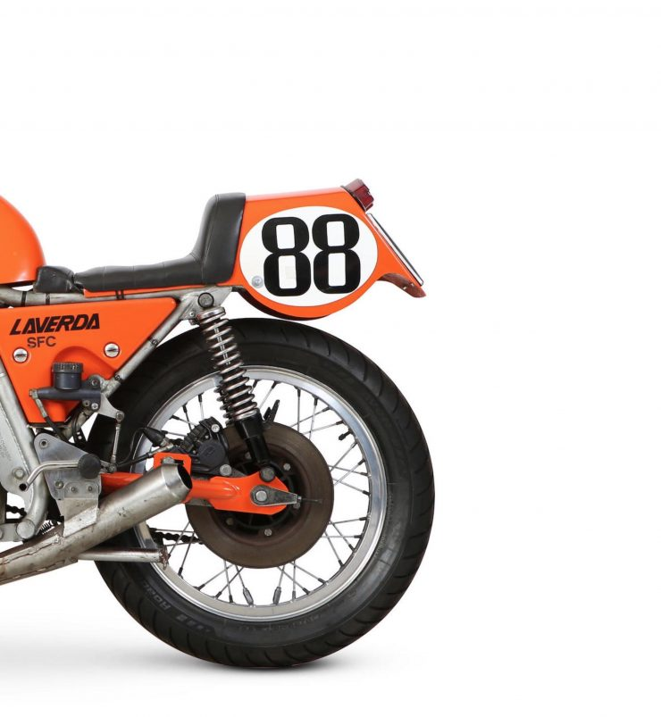 Laverda 750 SFC Rear Wheel