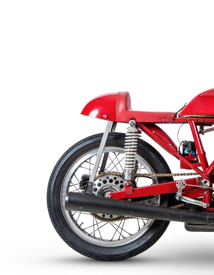MV Agusta 500cc Three-Cylinder Rear Wheel