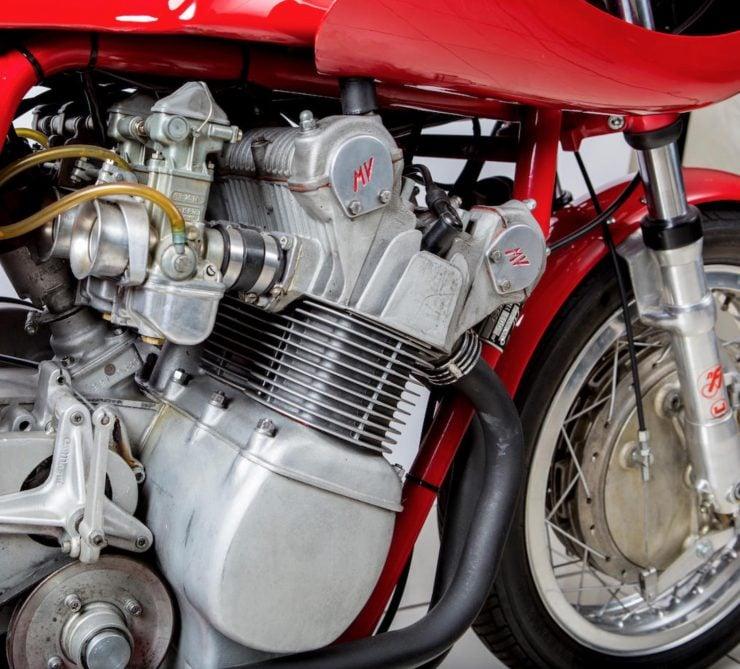 MV Agusta 861 Magni Engine