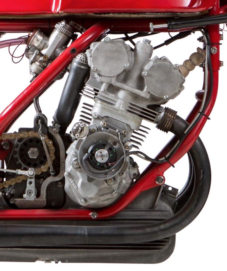 MV Agusta Three-Cylinder Engine