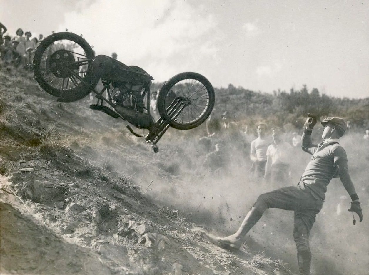 Film: The Golden Age of American Motorcycle Hill Climbing