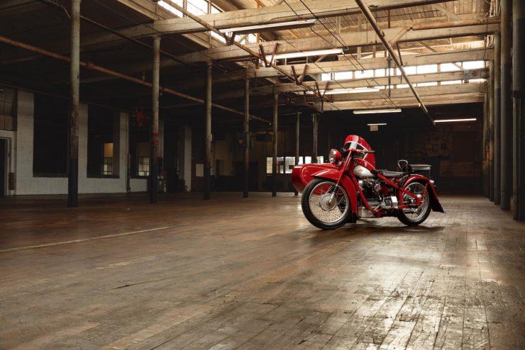 This Was Steve McQueen's Nimbus Model C Motorcycle