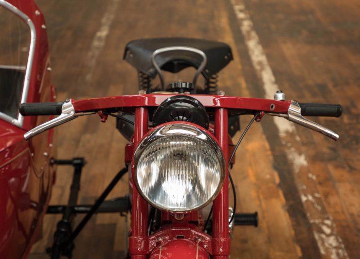 Nimbus Model C Motorcycle Front 1