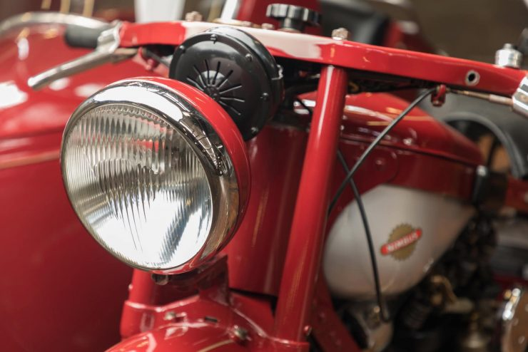 Nimbus Model C Motorcycle Head Light
