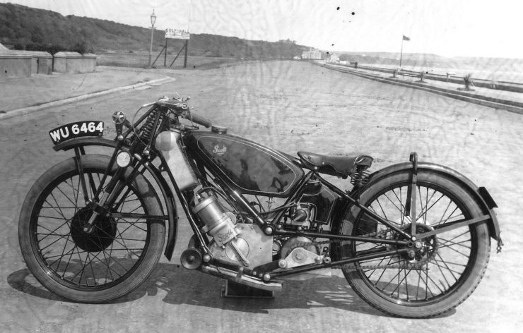 Scott Flying Squirrel Vintage Motorcycle