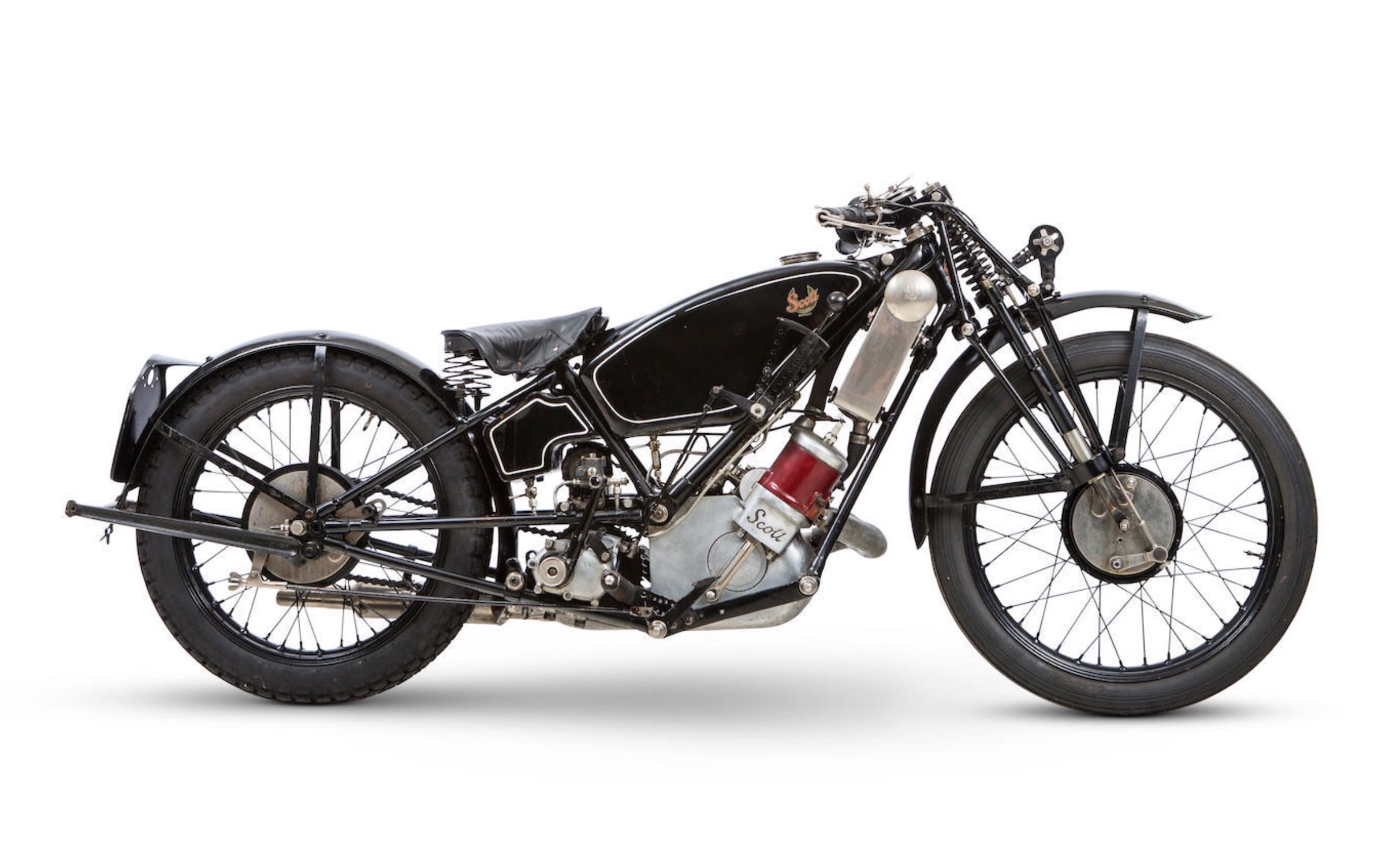 1926 Isle of Man TT Competitor - Scott Flying Squirrel