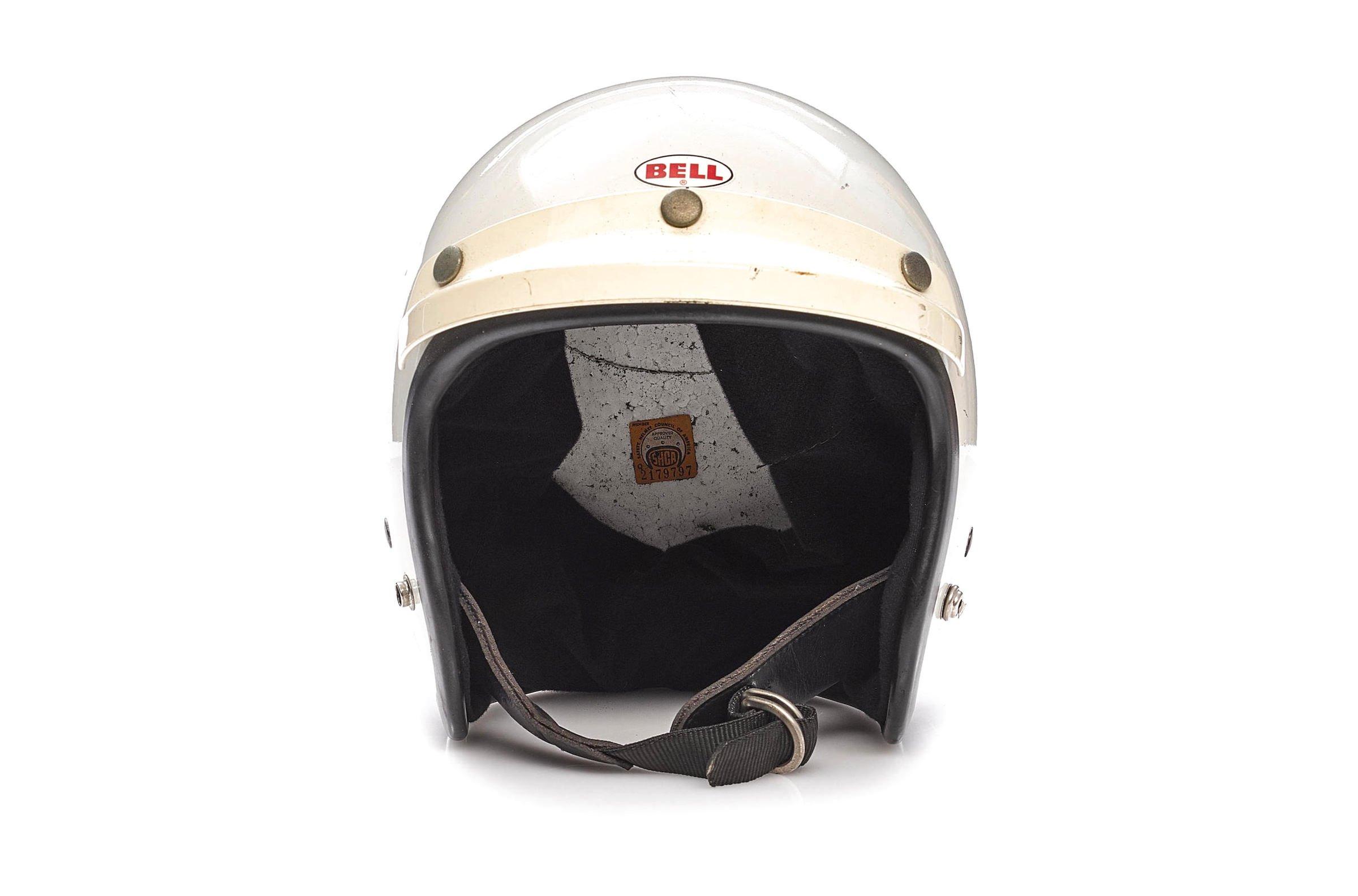 Steve McQueen Bell Helmet