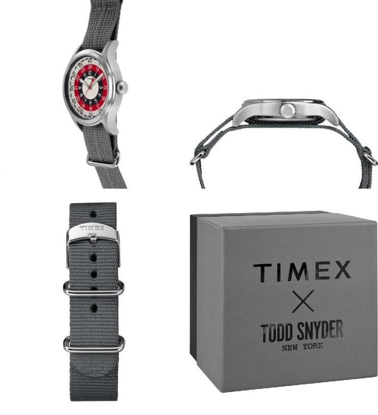 Timex x Todd Snyder MOD Collage