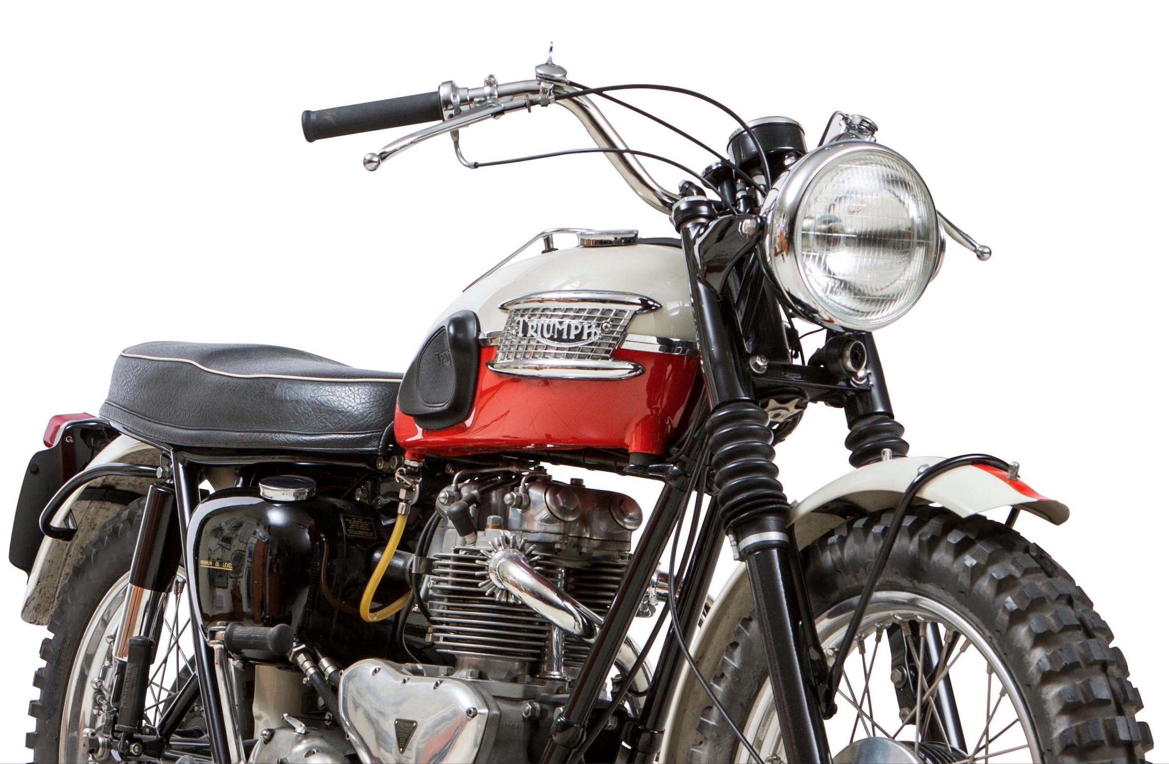 1960 Triumph TR6 Trophy - The Iconic Desert Sled
