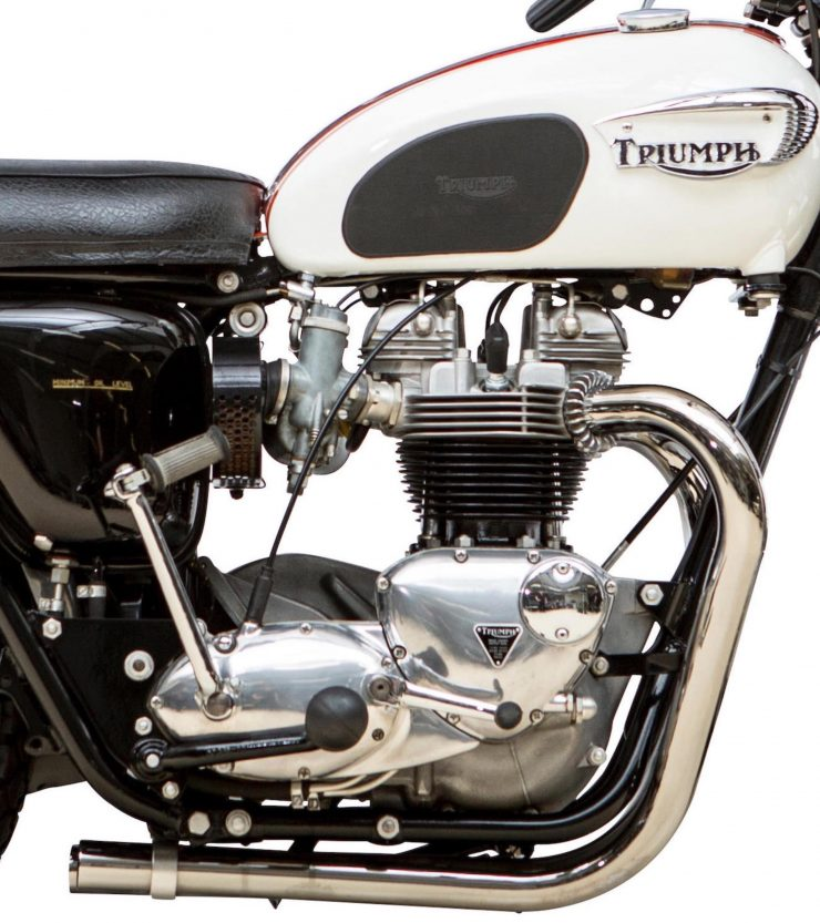 Triumph TT Special Competition Sports Desert Sled Engine 2