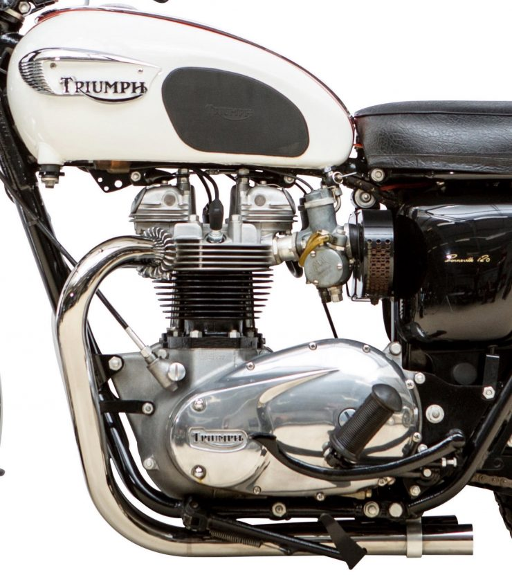 Triumph TT Special Competition Sports Desert Sled Engine