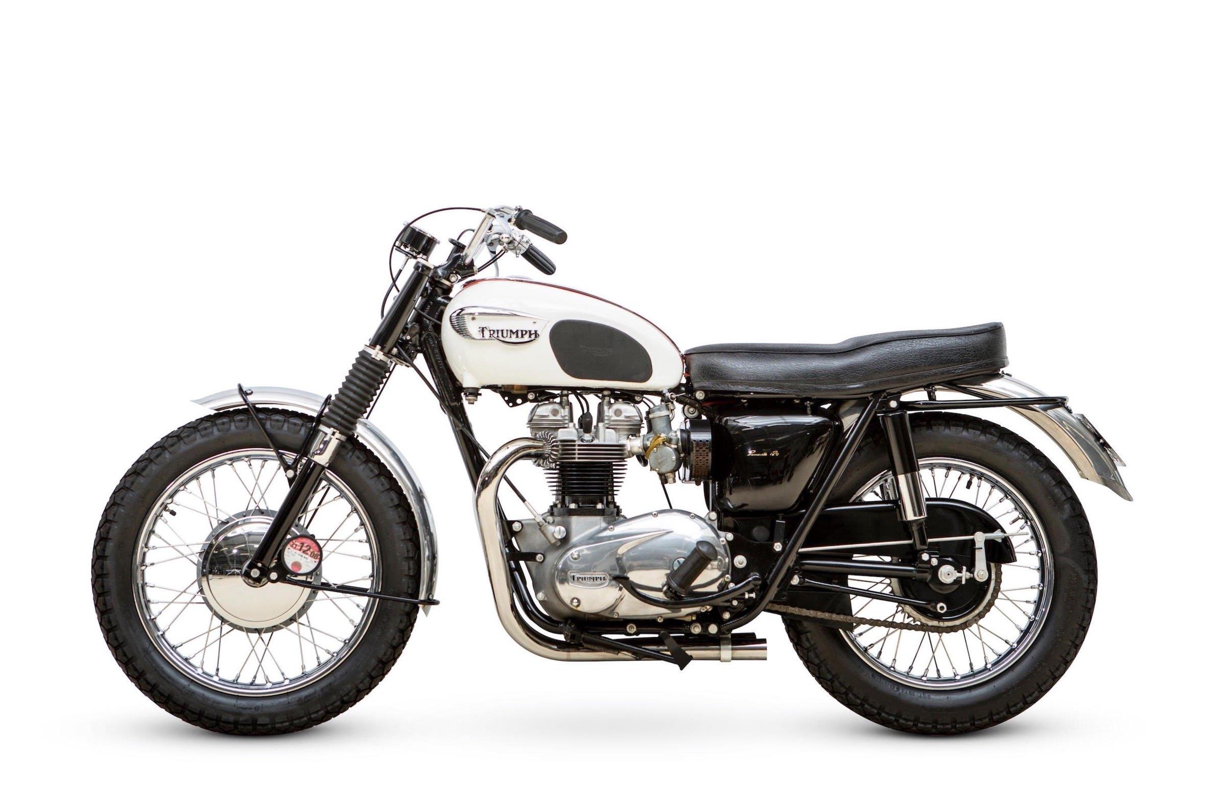 The Triumph Bonneville TT Special - The Rare Factory TT