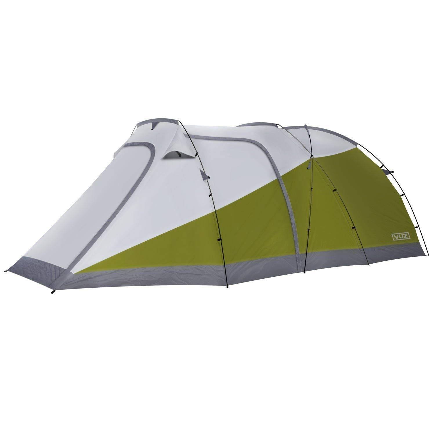 A Tent With A Garage And Space