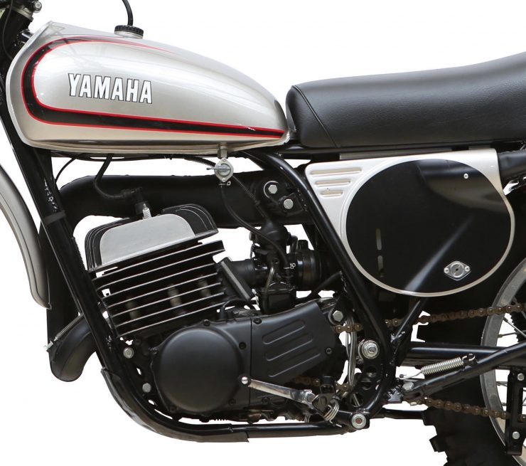 Yamaha SC500 Engine