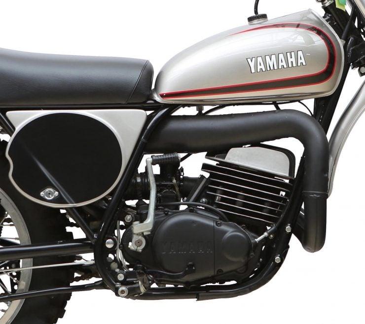 Yamaha SC500 Engine