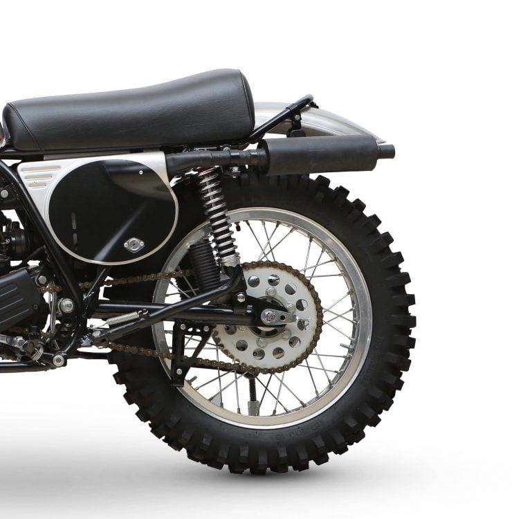 Yamaha SC500 Rear Wheel 2
